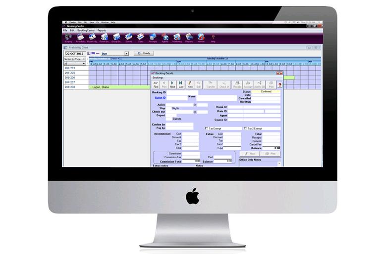 BookingCenter Desktop PMS