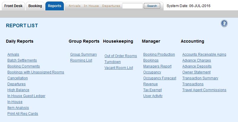 Report List