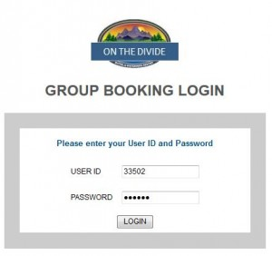 Group Booking Engine Login