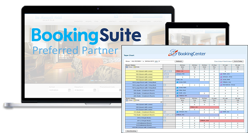 BookingCenter - BookingSuite Preferred Partner
