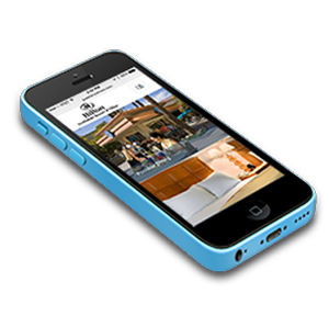 BookingCenter MyGuest - Responsive on phone, tablet or desktop