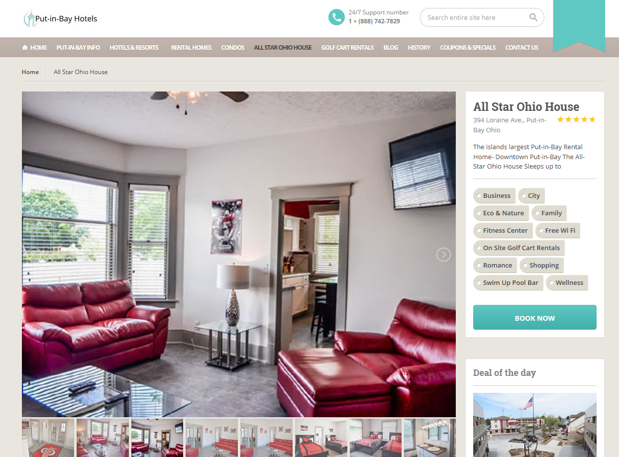 Wordpress Portal BookingCenter Things to do