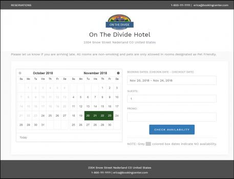 Property Management System | Hotel Reservation Software