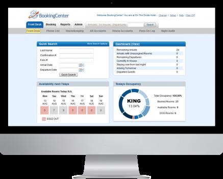 MyPMS Property Management System Dashboard Desktop